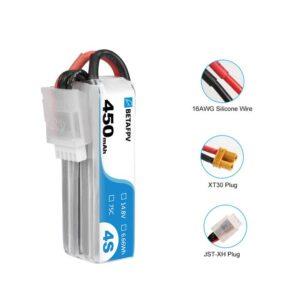 450mAh 4S 75C Lipo Bateria